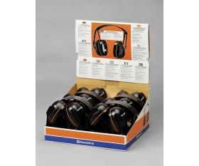 Ochronniki słuchu Husqvarna Gardener 10 sztuk w ekspozytorze 505699012 5056990-12 505 69 90-12