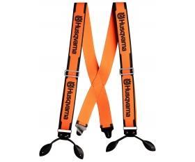 Szelki ze skórzanymi pętelkami do spodni Husqvarna 505618510 5056185-10 505 61 85-10