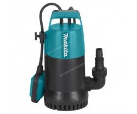 Makita PF0800 elektryczna pompa zanurzeniowa do wody czystej i lekko zabrudzonej 220l min 800W