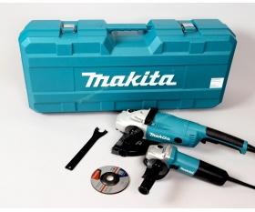 Makita DK0053 zestaw szlifierek kątowych GA9020 i 9558HNR