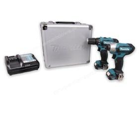 Makita CLX201X zestaw narzędzi akumulatorowych DF331D TD110D Li 10,8V 1,5Ah