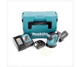 Makita DBO180RMJ akumulatorowa szlifierka mimośrodowa 125mm Li 18V 4Ah