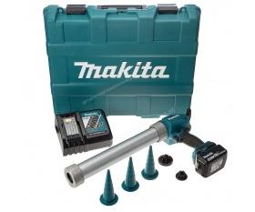 Makita DCG180RFX akumulatorowy wyciskacz do kleju i silikonu Li 18V 3Ah