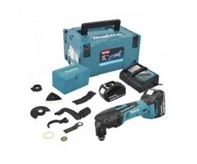 Makita DTM50RFJX1 akumulatorowe narzędzie wielofunkcyjne z akcesoriami Li-ion 2 x 18V 3Ah Makpac